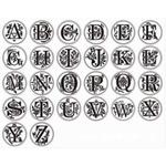 seal stamp alphabet