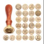 sceau à cacheter alphabet