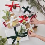 kit de décoration paquet cadeau noel