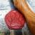 sceau patte de chien