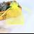 pochette organza jaune
