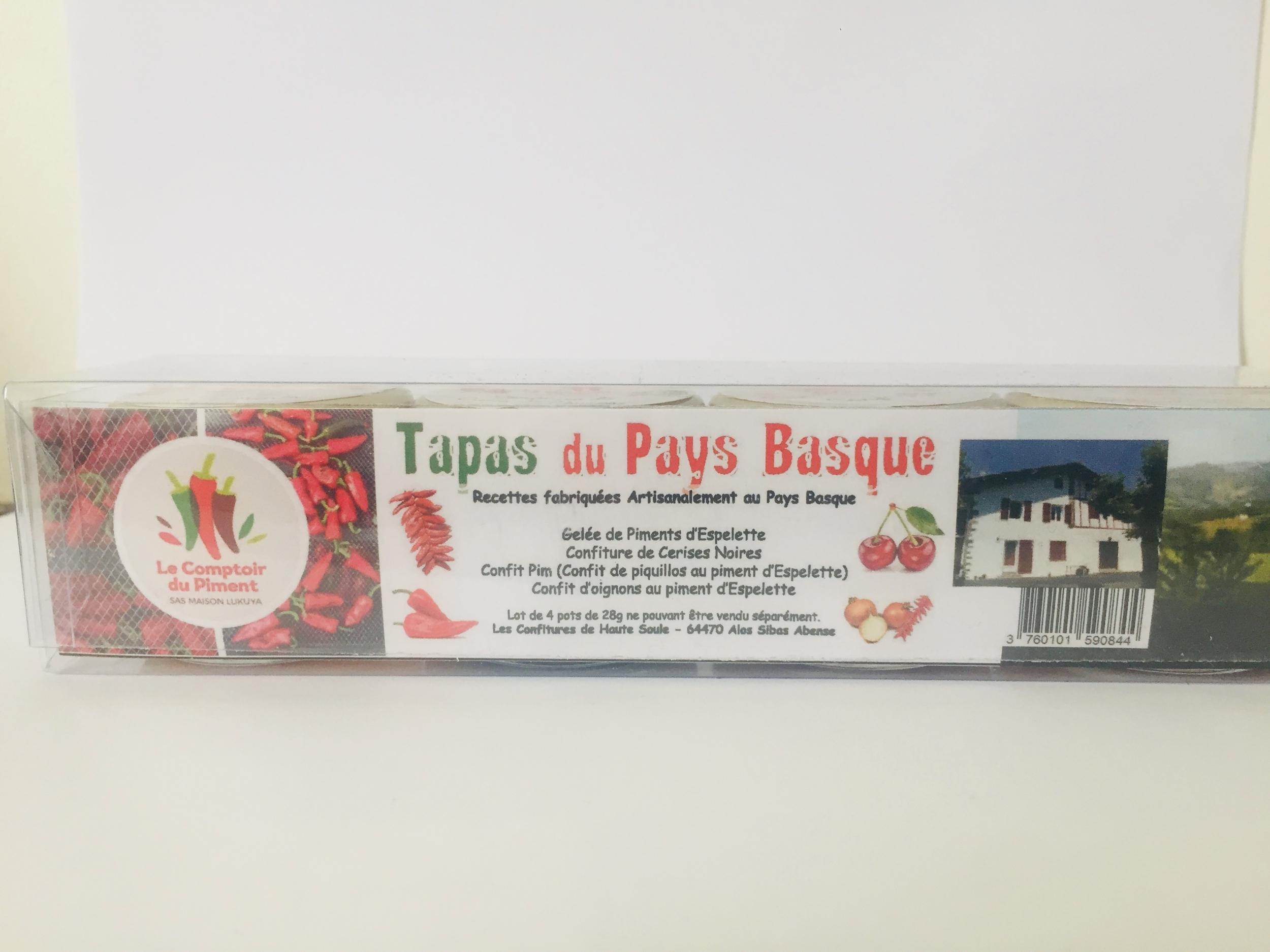 Tapas du Pays Basque