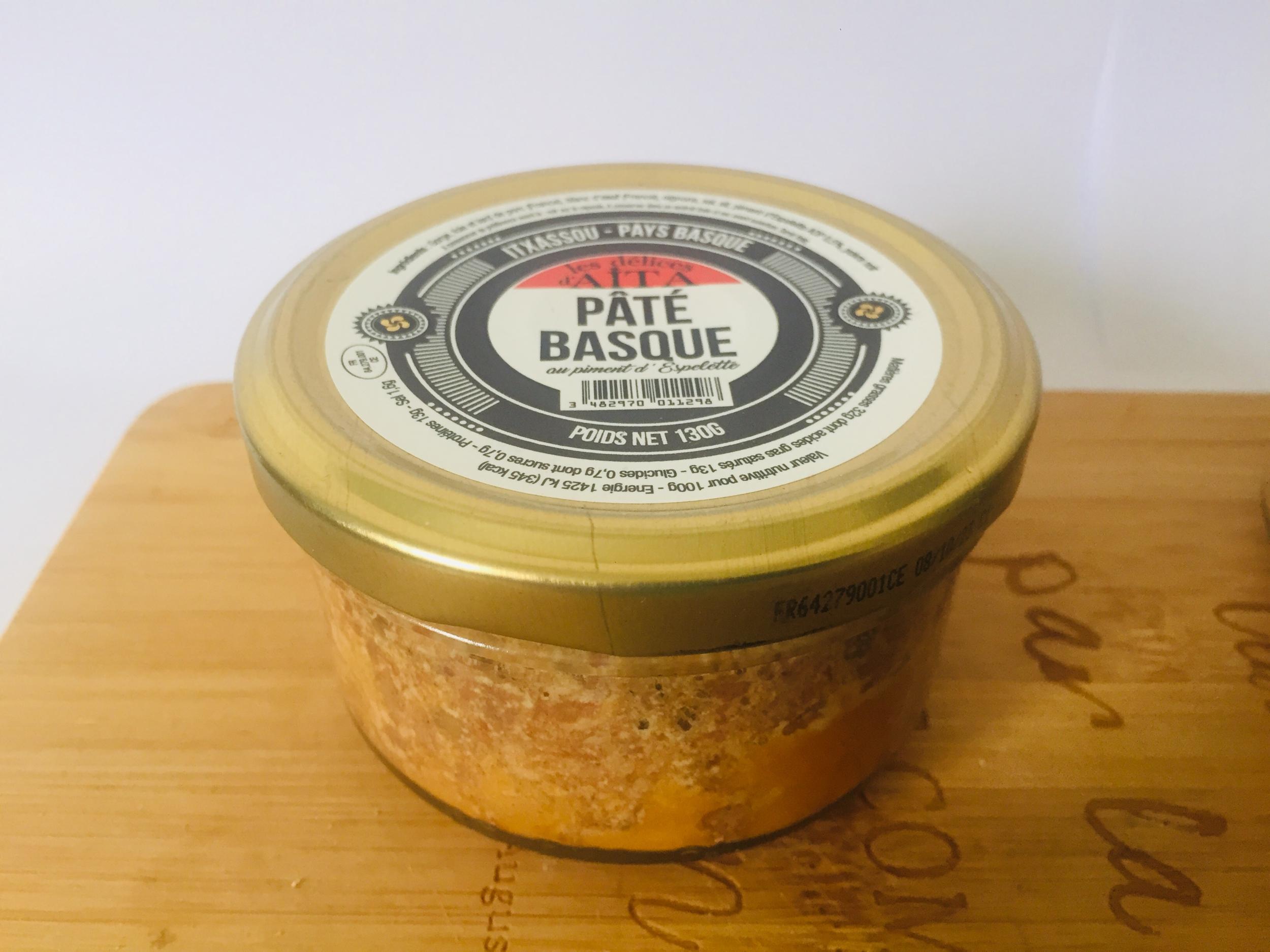 Pâté basque au Piment d\'Espelette 130 gr