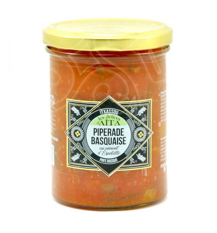 Piperade Basquaise au piment d\'Espelette  390 gr  - 2 personnes
