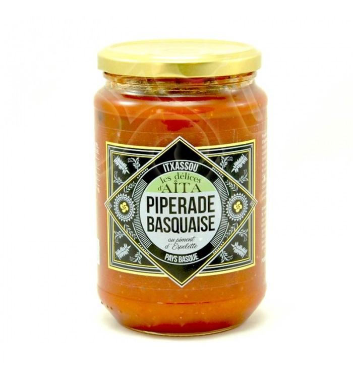 Piperade Basquaise au piment d\'Espelette - 700 gr - 4 personnes