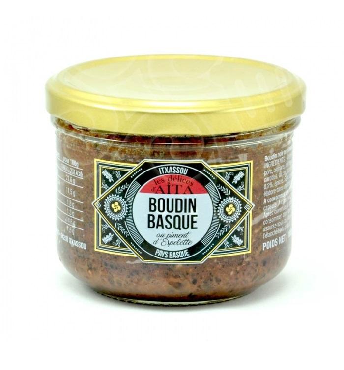 Boudin basque au piment d\'Espelette - 180 gr