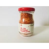Sel fin au piment d'Espelette - 90 gr