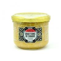 Grattons (rillettes) de canard au piment d'Espelette - 180 gr