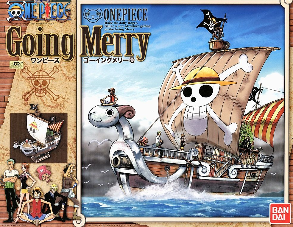 bandai maquette one piece going merry model kit shonen kits one piece navires gunpla shop. Black Bedroom Furniture Sets. Home Design Ideas