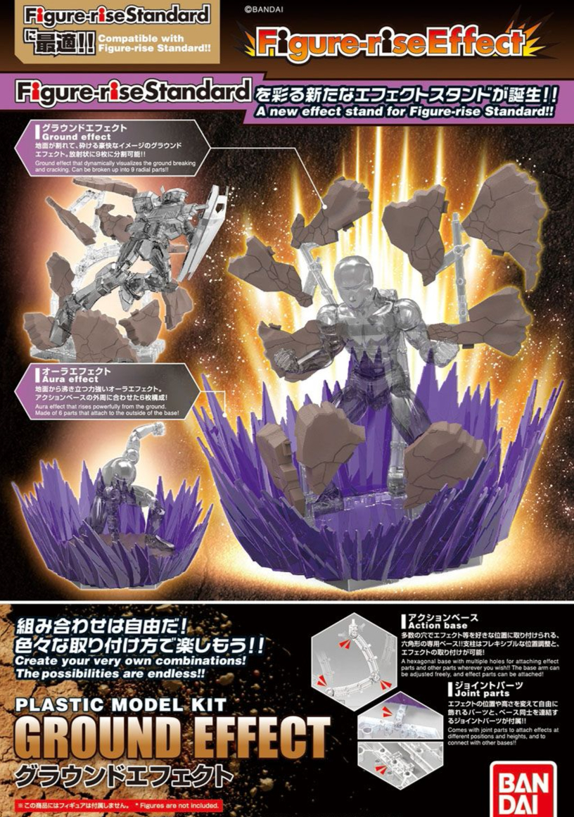 BANDAI FIGURE-RISE GROUND EFFECT GUNDAM