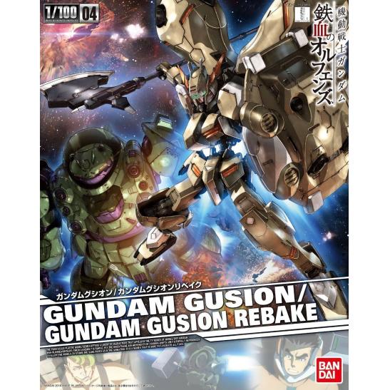 BANDAI GUN48352 GUNPLA RE 1/100 GUNDAM GUSION/GUSION REBAKE