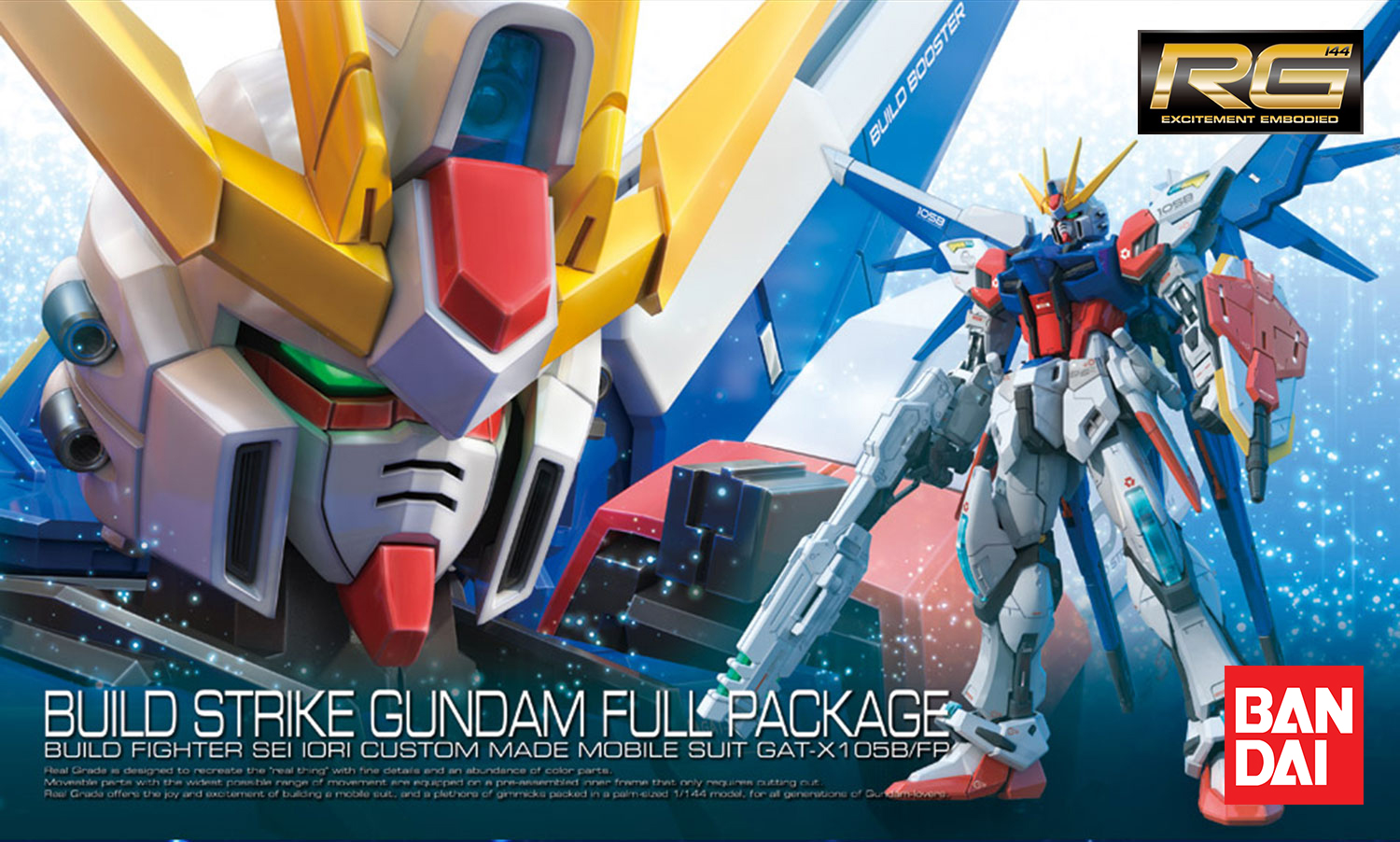 BANDAI GUNPLA RG BUILD STRIKE FULL PACKAGE GUNDAM 23