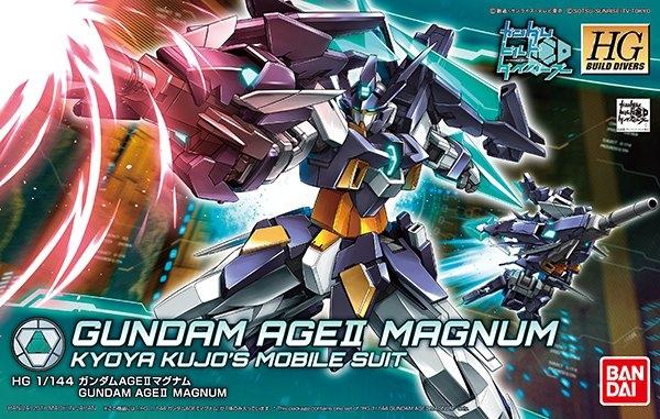 BANDAI GUN81108 HGBD 1/144 GUNDAM AGE II MAGNUM