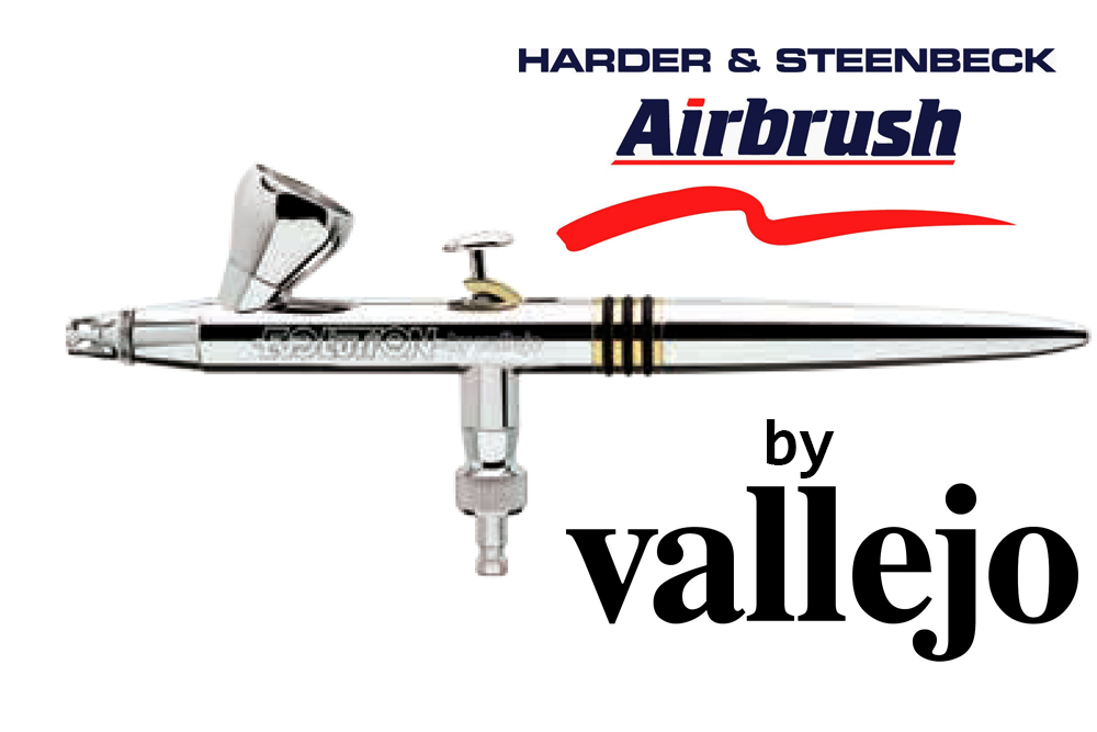 H & S AIRBRUSH EVOLUTION TWO IN ONE