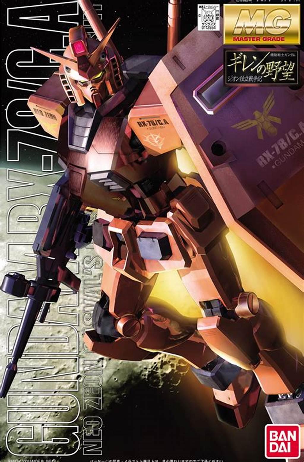 BANDAI GUN83885 GUNPLA MG 1/100 RX-78-2 GUNDAM CHAR S