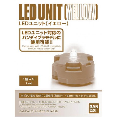 BANDAI GUN80574 LED JAUNE UNIT YELLOW