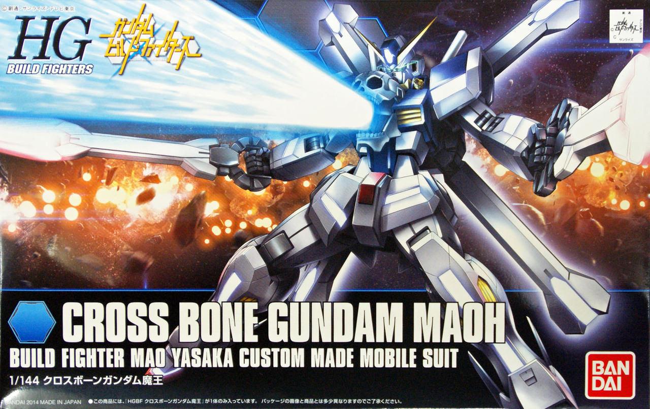 BANDAI GUN46848 GUNPLA HGBF 1/144 GUNDAM CROSS BONE MAOU
