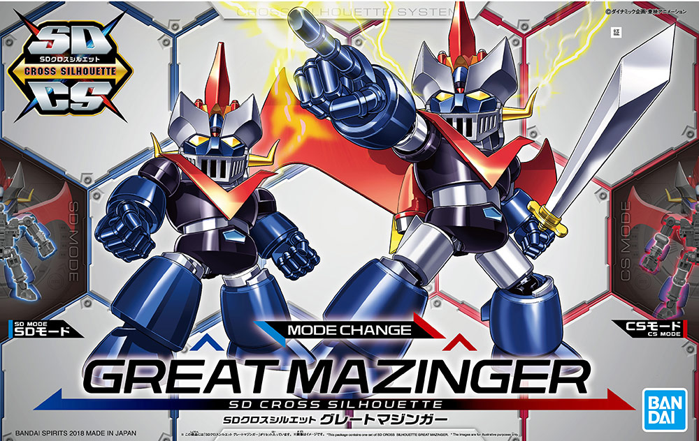 BANDAI GO63287 SD 1/144 CROSS SILHOUETTE GREAT MAZINGER
