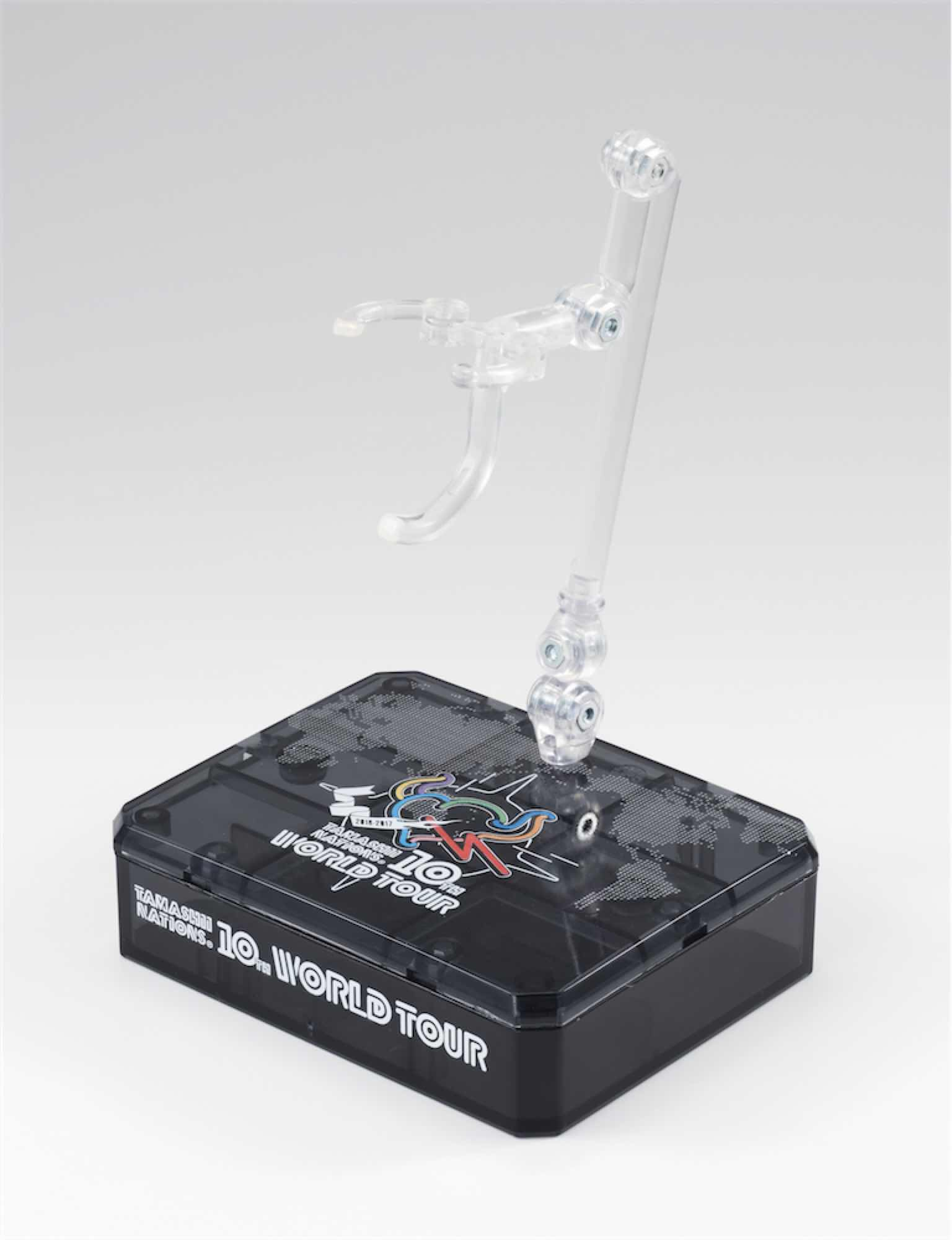 Bandai Base Stand Figure 15cm Tamashii World Tour 10th Exclu