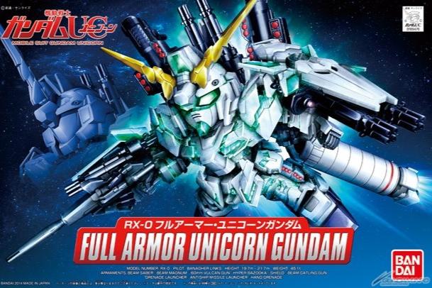 BANDAI GUN28666 BB GUNDAM UNICORN FULL ARMOR #39