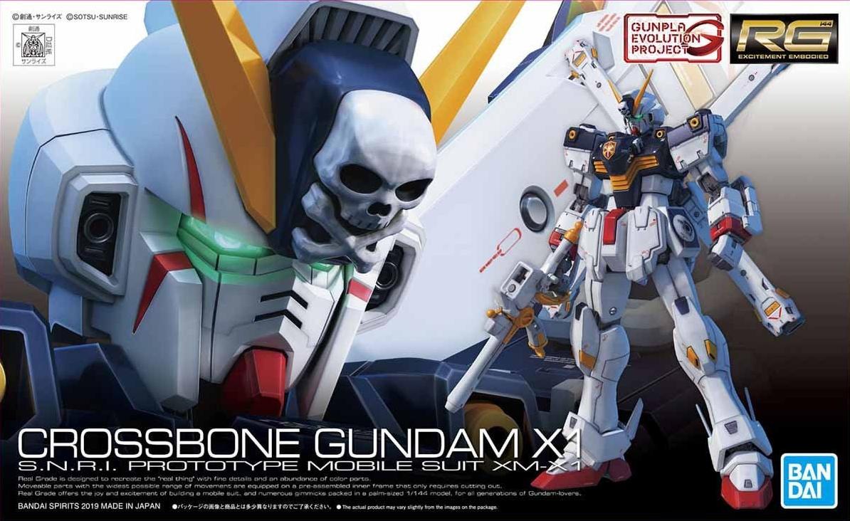 BANDAI GUN65956 GUNPLA RG 1/144 GUNDAM CROSSBONE X1