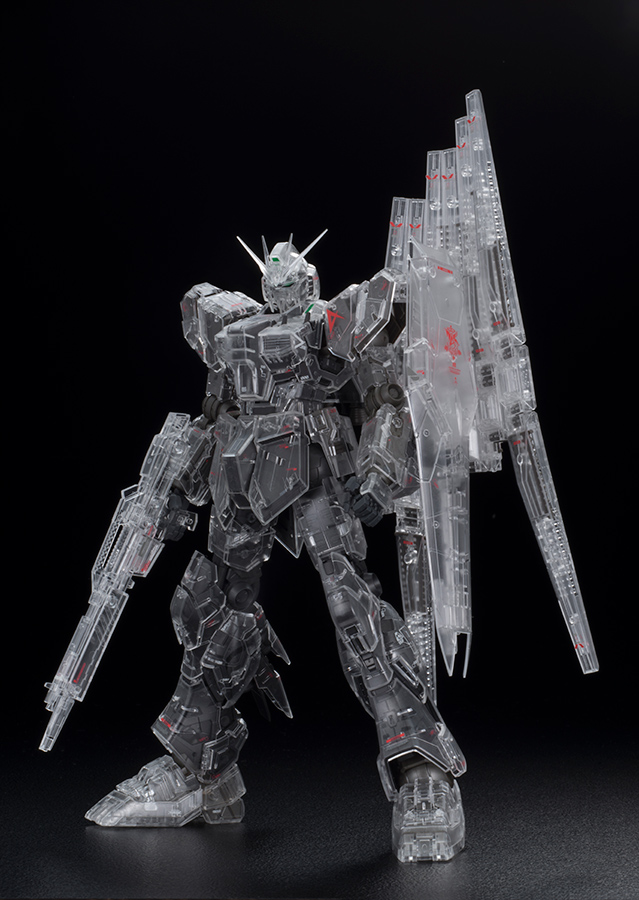 BANDAI GUN68547 GUNPLA MG 1/100 GUNDAM NU Ver KA MECHANIC CLEAR