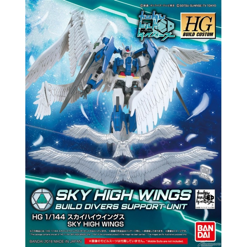 BANDAI GUN82328 GUNPLA HGBC 1/144 SKYHIGH WINGS
