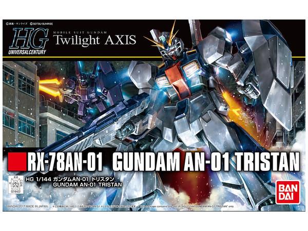 BANDAI GUNPLA HG 1/144 RX-78AN-01 GUNDAM AN-01 TRISTAN