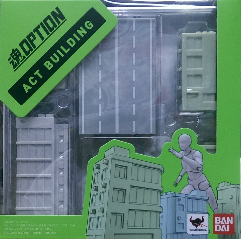BANDAI GUN49327 TAMASHII OPTION ACT BUILDING