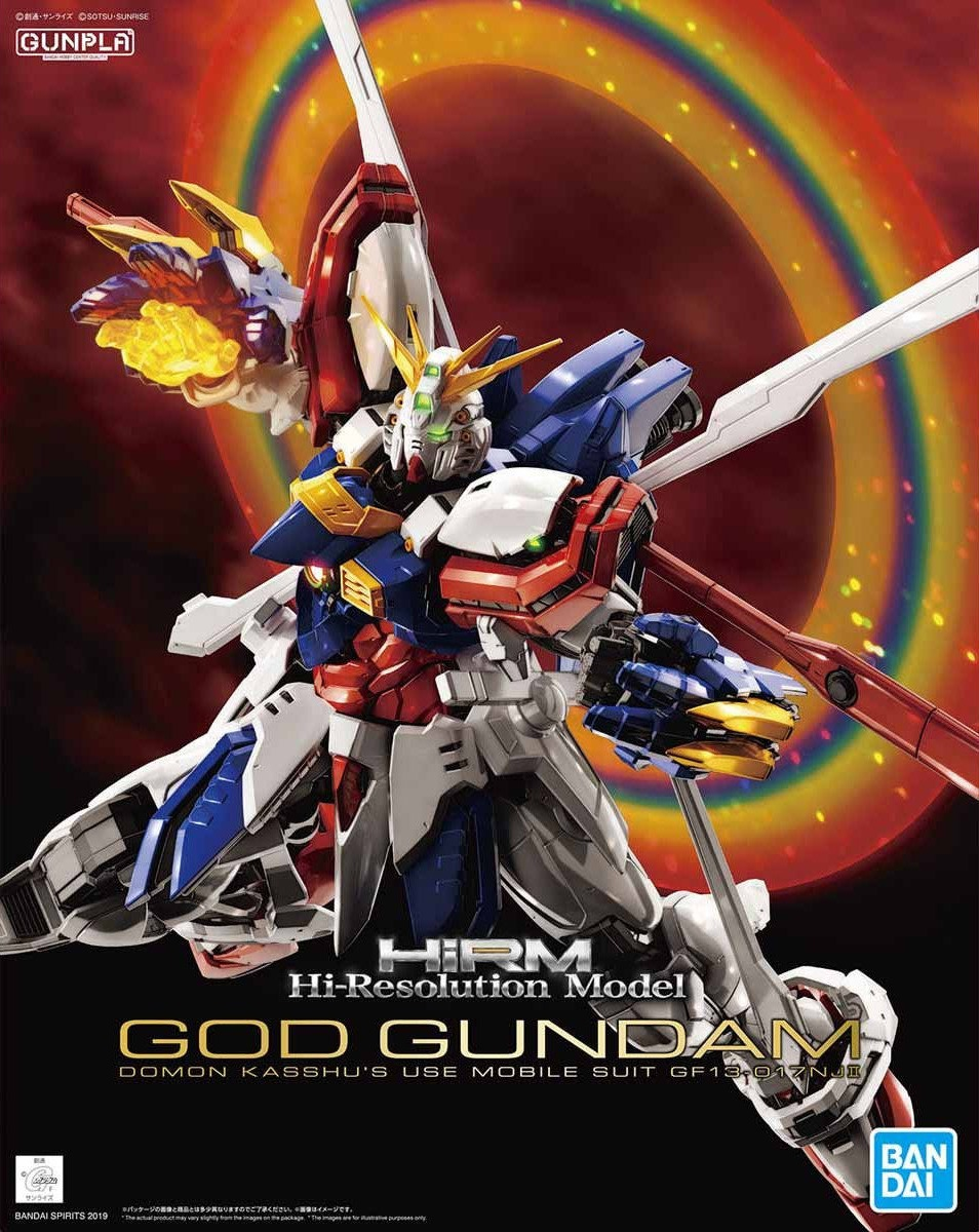 BANDAI GUN68088 GUNPLA HIRM GUNDAM GOD HI RESOLUTION 1/100
