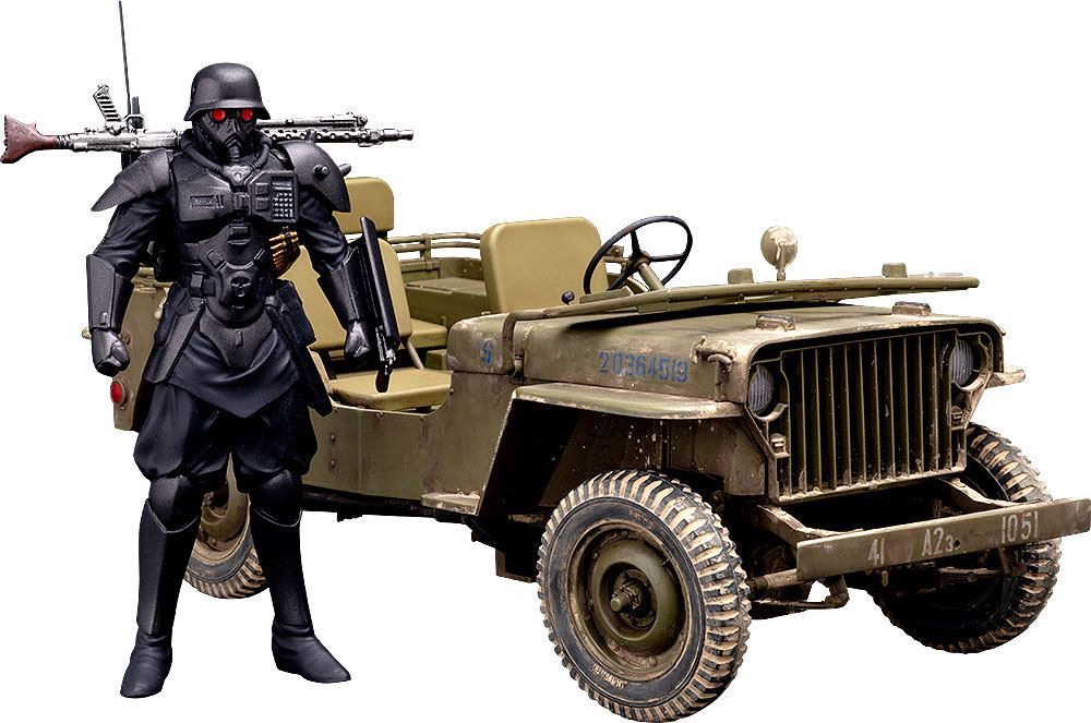 MAX FACTORY THE RED SPECTACLES FIGURINE 1/20 PLAMAX MF-35 MINIMUM FACTORY PROTECT GEAR & VEHICLE 9 CM