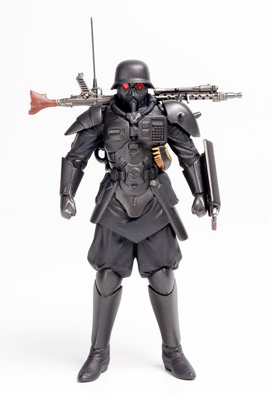 MAX FACTORY THE RED SPECTACLES FIGURINE 1/20 PLAMAX MF-35 MINIMUM FACTORY PROTECT GEAR 9 CM