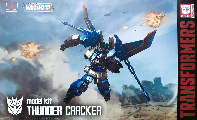 FLAME FUR65316 TRANSFORMERS THUNDER CRACKER MK