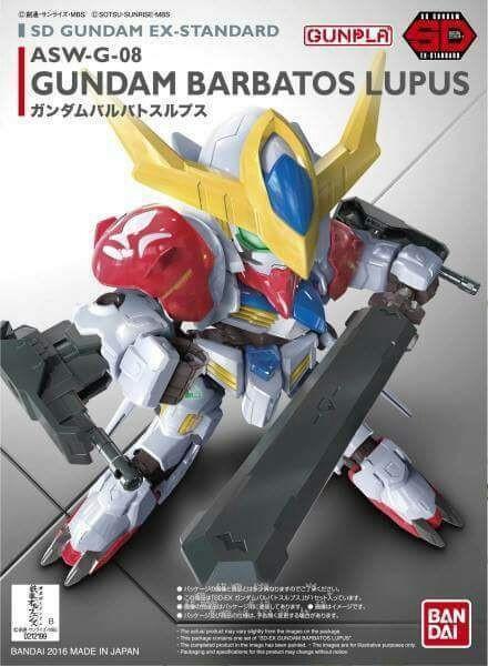 BANDAI GUNPLA SD GUNDAM EX-STD 014 ASW-G-08 BARBATOS LUPUS