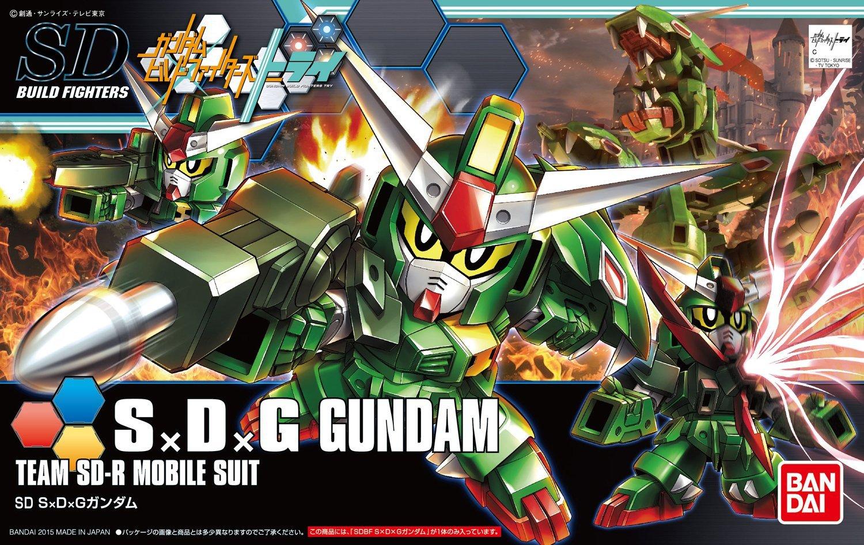 BANDAI GUN37026 GUNPLA SDBF 1/144 SDG GUNDAM