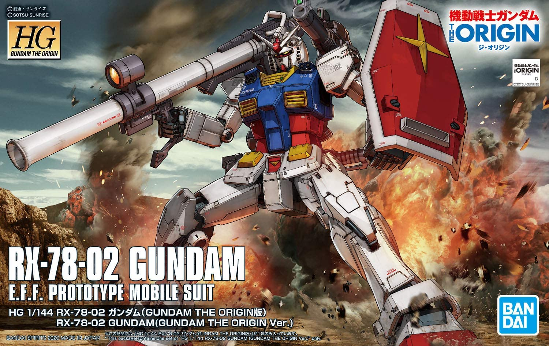 BANDAI GUN70675 HG 1/144 GUNDAM RX-78-02 ORIGIN