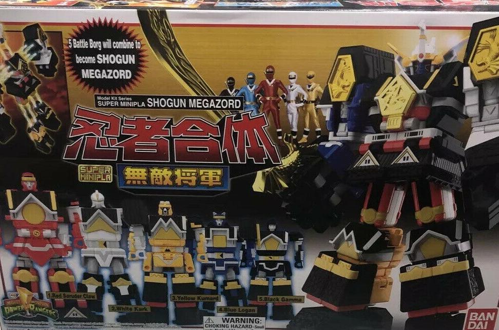 BANDAI SHOKUGAN 72228 MEGAZORD SHOGUN SUPER MINIPLA