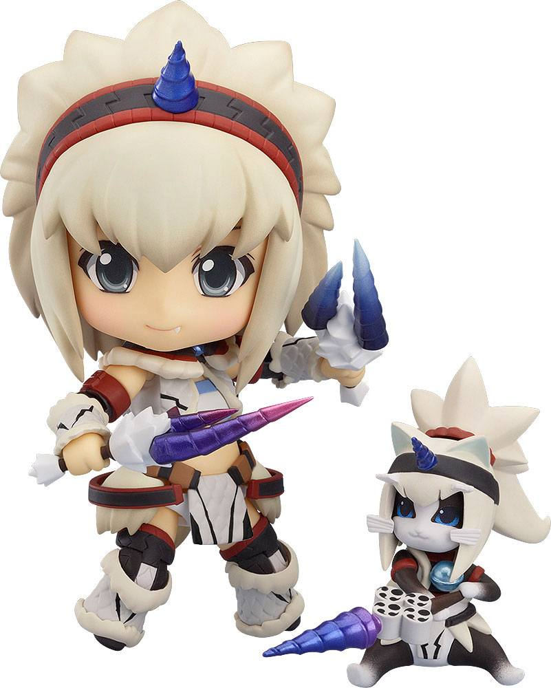 MONSTER HUNTER 4 NENDOROID FIGURINE PVC HUNTER: FEMALE KIRIN EDITION 10 CM