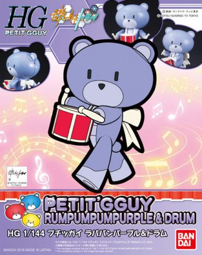 BANDAI BEARGGUY  HG 1/144 PETIT GGUY RUMPUMPUM PURPLE
