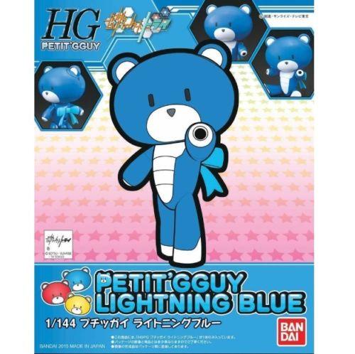 BANDAI BEARGGUY HGPG 1/144 PETIT GGUY LIGHTNING BLUE
