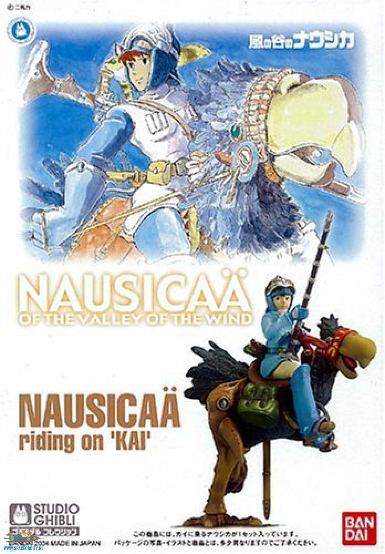 BANDAI NAUSICAA MODEL KIT 01 NAUSICAA RIDING ON KAI 1/20 GHIBLI