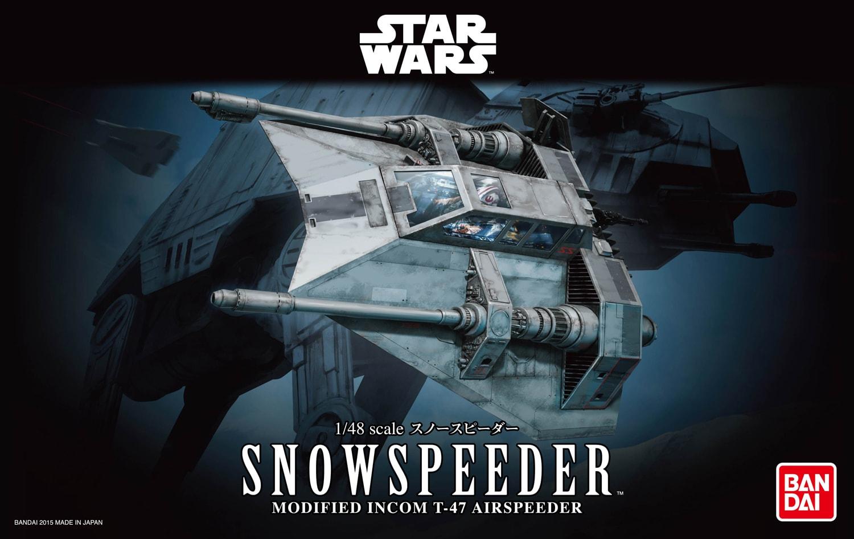 BANDAI STAR WARS MAQUETTE 1/48 SNOWSPEEDER
