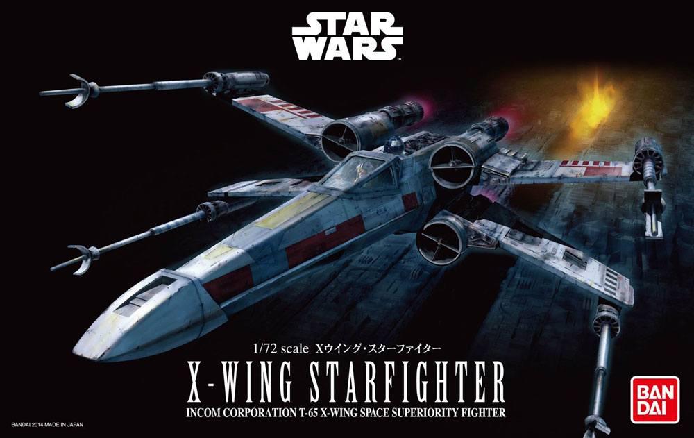 BANDAI STAR WARS MAQUETTE 1/72 X-WING STARFIGHTER