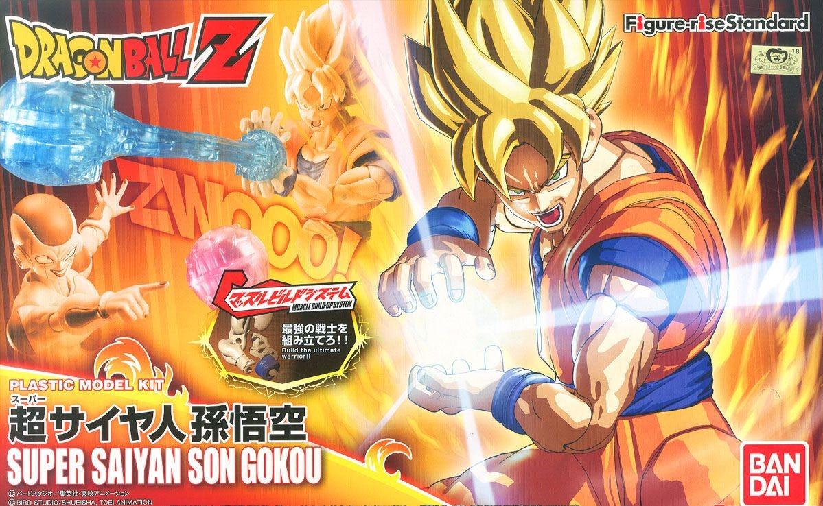 BANDAI FIGURE-RISE DBZ SUPER SAIYAN SON GOKOU