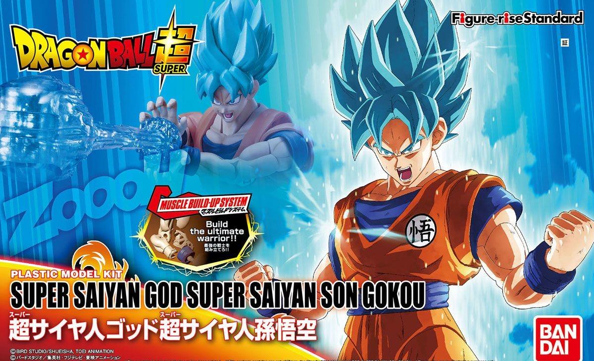 BANDAI DBZ  FIGURE-RISE SUPER SAIYAN GOD SON GOKU