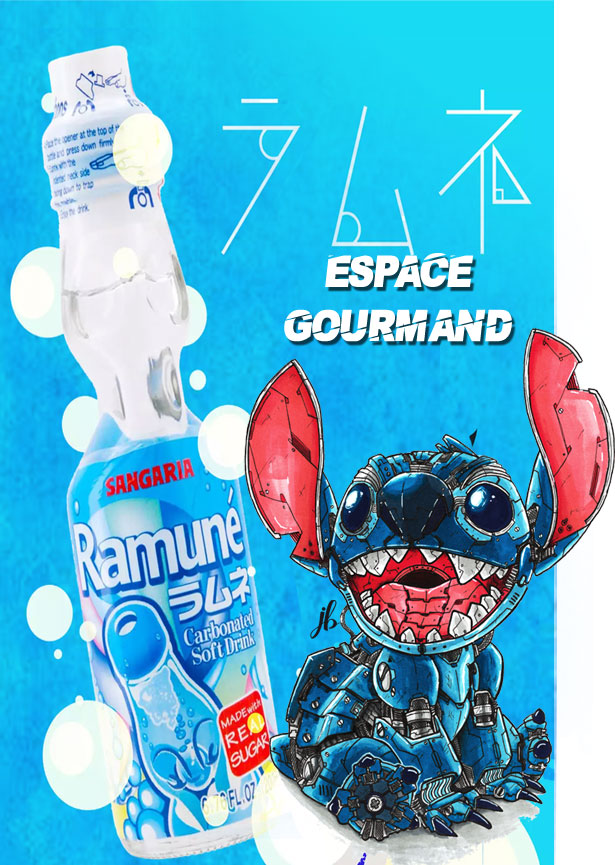 Sélection Gourmande (Illustrations Stitch par Julien Briand)