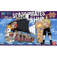 BANDAI MAQUETTE ONE PIECE SPADE PIRATES SHIP