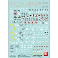 1 Pack DECAL No.107 GUNDAM UC