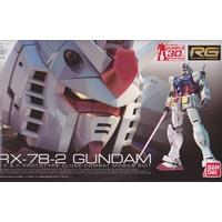 BANDAI GUN83113 GUNPLA 1/144 RG RX-78-2 GUNDAM
