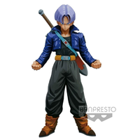 BANPRESTO MASTER STARS PIECE THE TRUNKS MANGA DIMENSIONS